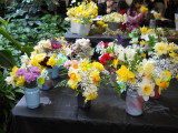 Daffodil Bouquets created by the children at Kid's Corner