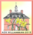 Additional information for Williamsburg ADS Convention