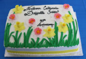 Cake for 50th Anniversary of the Northern California Daffodil Society